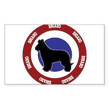 Briard Bullseye Decal
