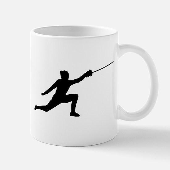 Fencing Lunge Mug
