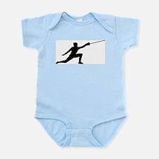 Fencing Lunge Infant Bodysuit