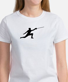 Fencing Lunge Women's T-Shirt