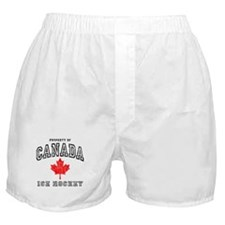 Canada Hockey Boxer Shorts
