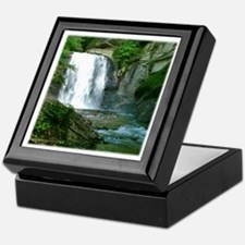 Looking Glass Falls NC 1 Keepsake Box