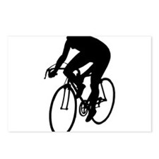 Cycling Silhouette Postcards (Package of 8)