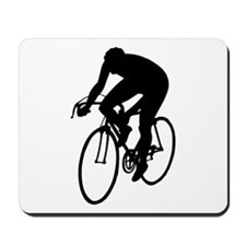 Cycling Silhouette Mousepad