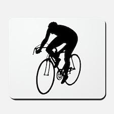 Cycling Silhouette Mousepad