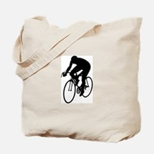 Cycling Silhouette Tote Bag