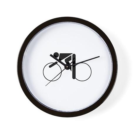Cycling Silhouette 2 Wall Clock