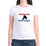 Ninja quick Jr. Ringer T-Shirt