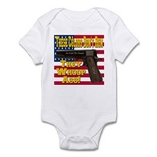 These Colors Don't Run They Whoop Ass! Infant Body