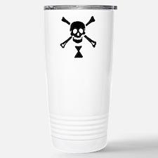 Pirate Flag Emanuel Wynne Travel Mug