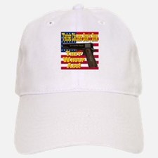 These Colors Don't Run They Whoop Ass! Baseball Baseball Cap
