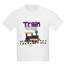 Train Kids T-Shirt