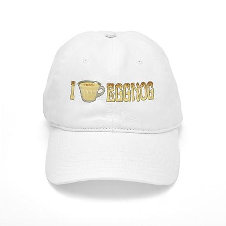 I Love Eggnog Cap