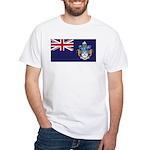 Tristan Flag White T-Shirt
