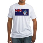 Tristan Flag Fitted T-Shirt