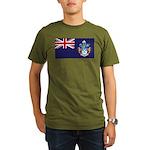 Tristan Flag Organic Men's T-Shirt (dark)