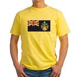 Tristan Flag Yellow T-Shirt