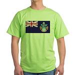 Tristan Flag Green T-Shirt