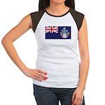Tristan Flag Women's Cap Sleeve T-Shirt