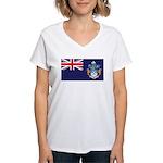 Tristan Flag Women's V-Neck T-Shirt