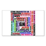 Spinelli's World Sticker (Rectangle)