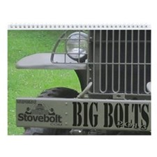 Big Bolts Wall Calendar