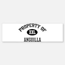 Property of Anguilla Bumper Bumper Bumper Sticker