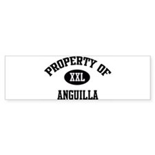 Property of Anguilla Bumper Bumper Sticker