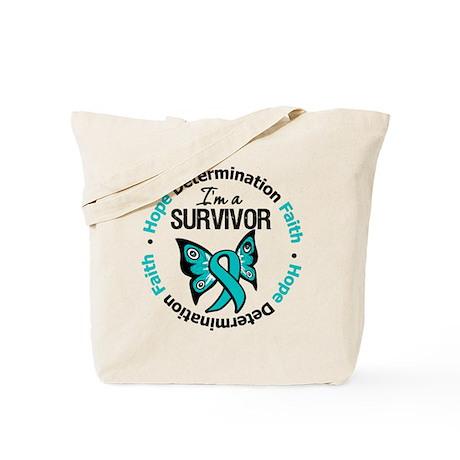 Ovarian Cancer I'm A Survivor Tote Bag