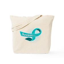 Ovarian Cancer STAR Survivor Tote Bag