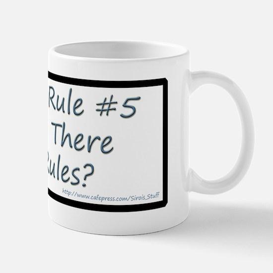 Quilting Rule #5 Mug