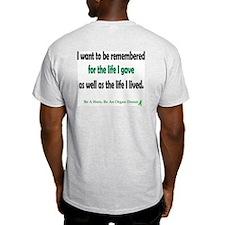 Life Given Ash Grey T-Shirt