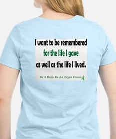 Life Given Women's Pink T-Shirt