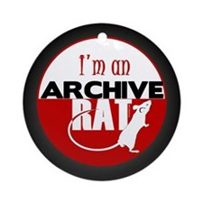 Archive Rat (V2) Ornament (Round)