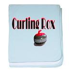 Curling Rox baby blanket