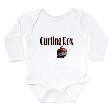 Curling Rox Long Sleeve Infant Bodysuit