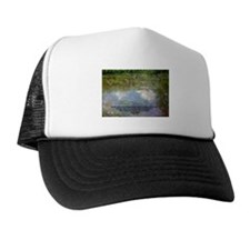 Monet Painting: Beauty Quote Trucker Hat
