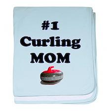 #1 Curling Mom baby blanket