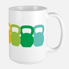Kettlebell Spectrum Ceramic Mugs