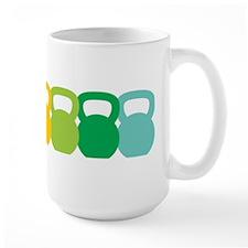 Kettlebell Spectrum Ceramic Mugs
