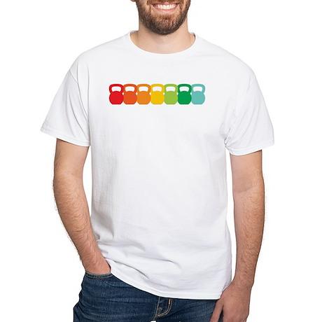 Kettlebell Spectrum White T-Shirt