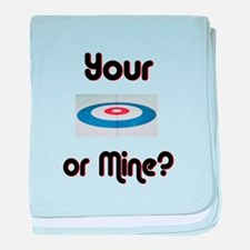 Your House or Mine? baby blanket