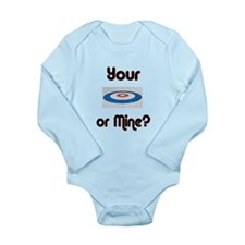 Your House or Mine? Long Sleeve Infant Bodysuit