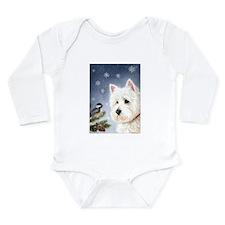 Winter Wonder Long Sleeve Infant Bodysuit