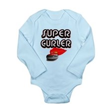 Super Curler Long Sleeve Infant Bodysuit