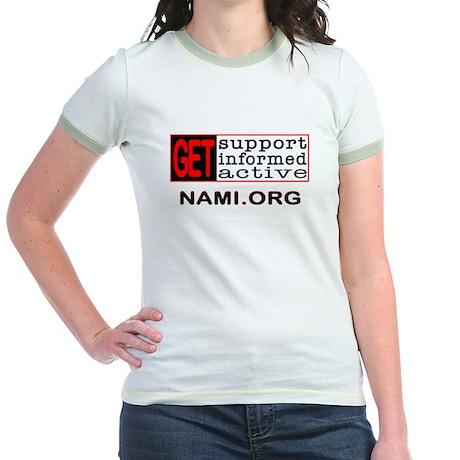 Help for Mental Health Jr. Ringer T-Shirt