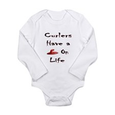 Curlers Have a Handle on Life Long Sleeve Infant B