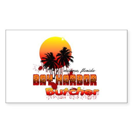 Dexter ShowTime Bay Harbor Bu Sticker (Rectangle)