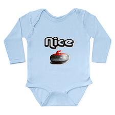 Nice Rock Long Sleeve Infant Bodysuit