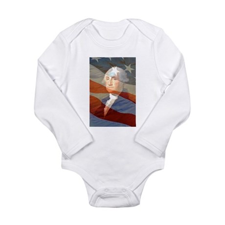 Life, liberty and the.... Long Sleeve Infant Bodys